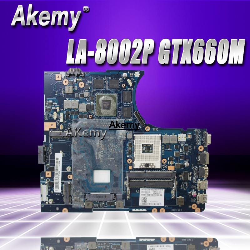 Y580 QIWY4 LA-8002P motherboard For LENOVO Y580 Laptop Motherboard 90001314 GTX660M 2G HM76 DDR3 Test 100% workY580 QIWY4 LA-8002P motherboard For LENOVO Y580 Laptop Motherboard 90001314 GTX660M 2G HM76 DDR3 Test 100% work