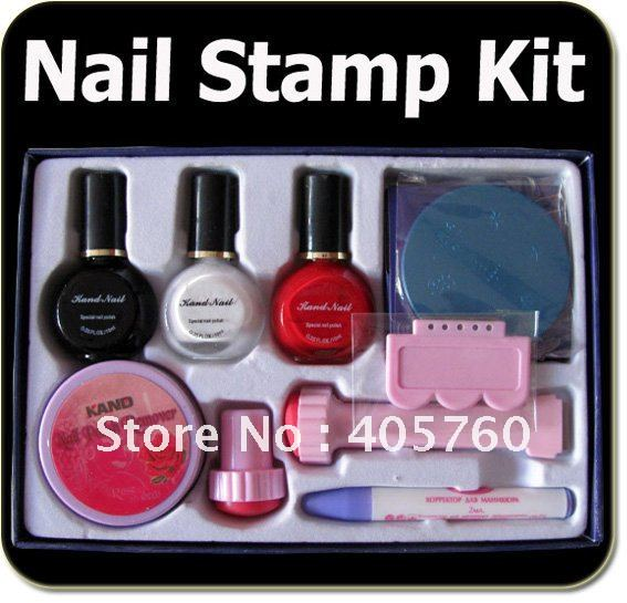 Nail Art Printer Stamping Image Plate Designs Template Set Kit Whole