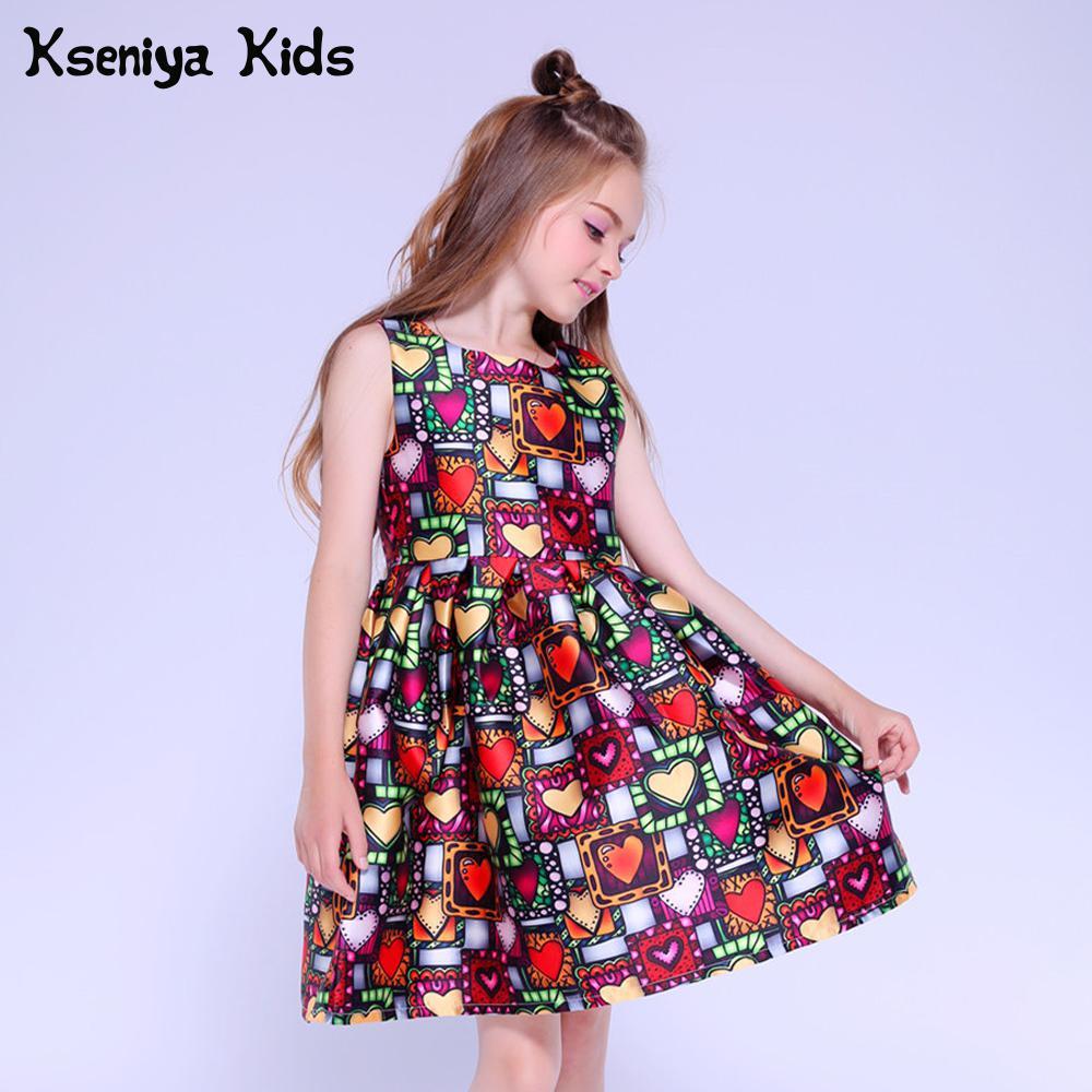Kseniya Kids Dress Princess Girl Clothing Brand Cute Children Party Dresses  For Girls 10 12 Girls Dresses Age 13 - aliexpress.com - imall.com 8113a64d64e3