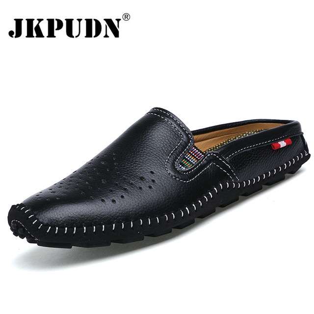 Breathable Men Casual Shoes Genuine Leather Shoes Leather Men Loafers