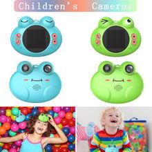 720P Mini HD Lovely For Kids Digital Frog Camera Portable 2M