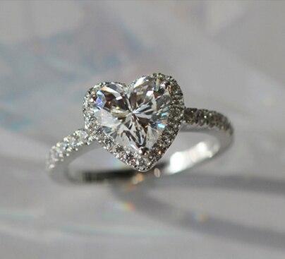 Popular Heart Shaped Diamond RingBuy Cheap Heart Shaped Diamond