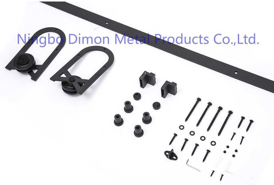 Free Shipping Dimon Heavy Wood Sliding Door Hardware DM-SDU 7206 With Soft Close (without Sliding Track)