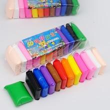 36 farbe farbe raum schlamm 12 farbe ultra licht ton kinder spielzeug plastilin kleine paket sicherheit ton puzzle handgemachte bildung