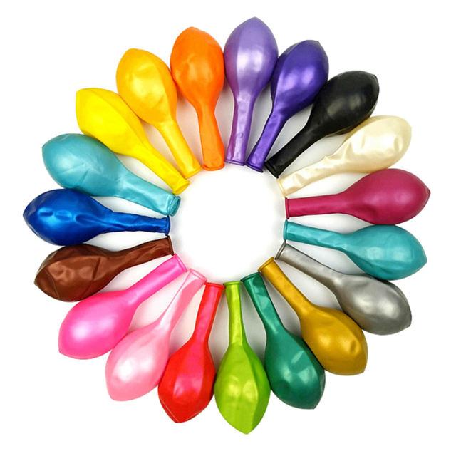 Multicolor Latex Ballon Set 10 Pcs