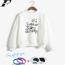 LUCKYFRIDAYF K-pop Riverdale Turtlenecks Sweatshirts Hoodies Women/Man Casual Style Collage Print Pullovers Clothes