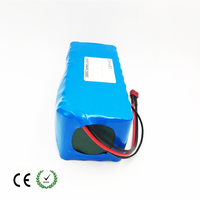 electric bicycle battery pack 18650 Li Ion Battery 10S4P 36V 10ah 800W High Power and Capacity 42V Motorcycle Scooter with BMS