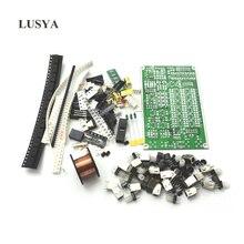 6 диапазонное HF SSB коротковолновое радио Lusya, коротковолновое радио, приемопередатчик, доска, Наборы для творчества
