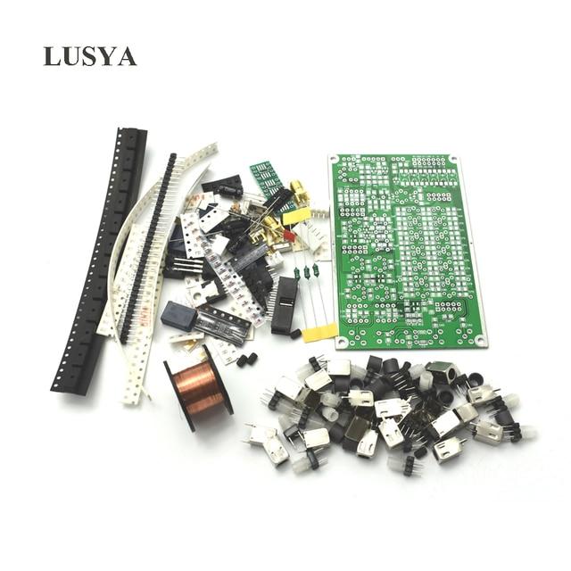 Lusya 6 band HF SSB Shortwave Radio Shortwave Radio Transceiver Board DIY Kits C4 007