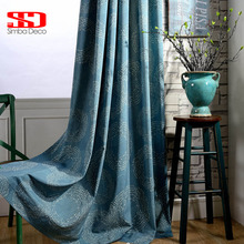 Modern Curtian Fabric Blackout Curtains For Living Room Cotton Roman Blinds Geometric Drapes For Bedroom Window Treatments Panel