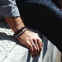 Fashion Bracelet men/natural stone beads