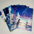 8 * (42x29 cm) NOVO o seu nome. cartaz Anime em torno de poster decoração Da Parede Adesivo de Parede