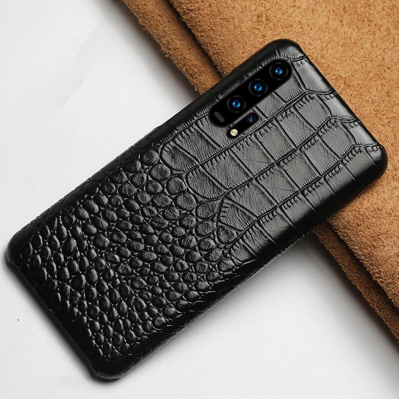 Étui en cuir véritable pour Honor 20i 20 Pro 8X 9X 10 8A housse de luxe pour Huawei P20 P30 Pro P40 Lite mate 40 20 pro P SMART 2019