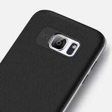 На резиновой нескользящей подошве; мягкая на ощупь чехол для телефона для Samsung J2 J5 J7 Prime S7 S7 край S8+ плюс 360 всего тела модная мужская чехол для телефона