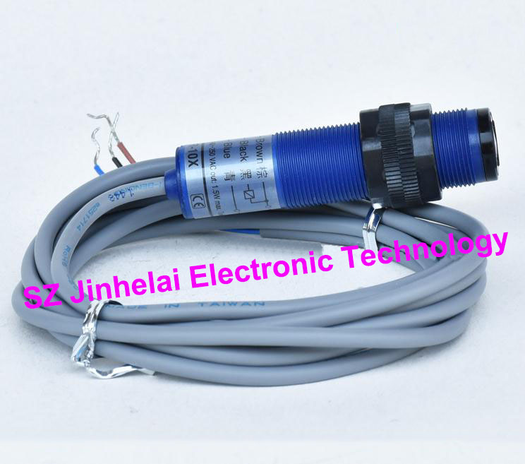 100% New and original FOTEK Photoelectric switch  CAR-10XB  90-250VAC  normal close e3x da21 s photoelectric switch
