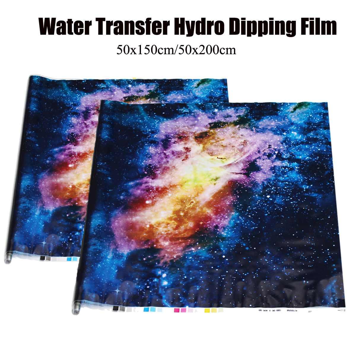 50x150cm/50x200cm Starry Sky PVA Hydrographic Water Transfer Printing Hydro Dipping DIP Print Film