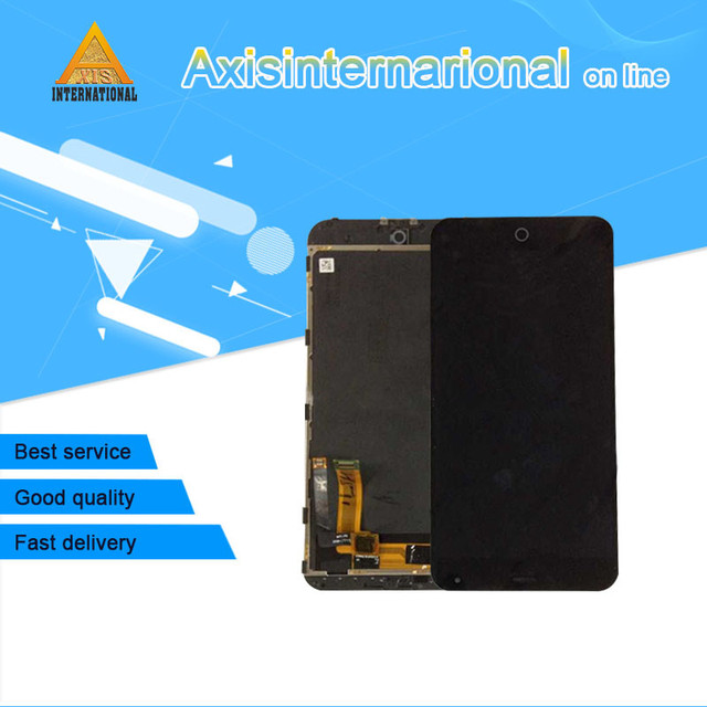 For 5.5'' Meizu M1 note Meilan Note Axisinternational  LCD screen display+touch digitizer with frame  black free shipping