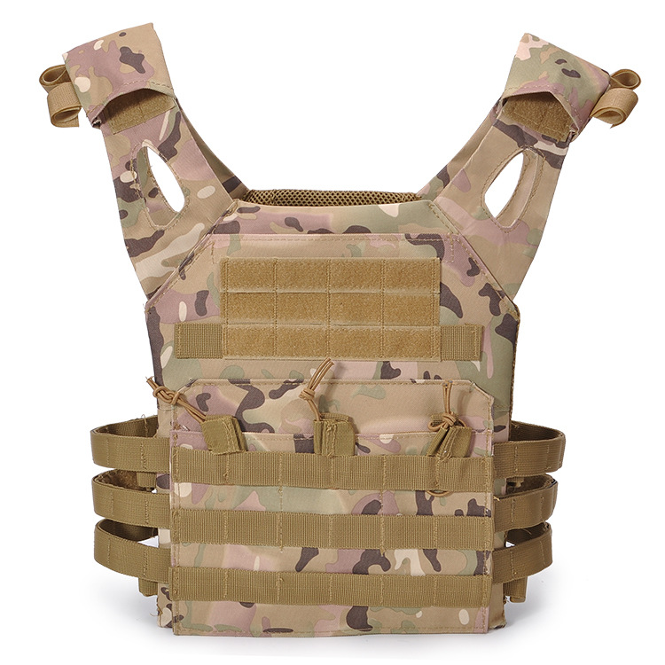 Tactical 600D MOLLE Plate Carrier JPC Vest Military Airsoft Paintball Vest Top