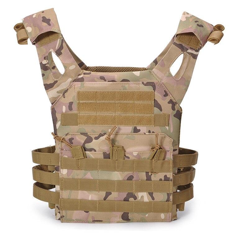 Tactical 600D MOLLE Plate Carrier JPC Vest Military Airsoft Paintball Vest Top