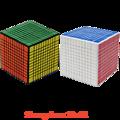 2016 Mais Novo Cubos Shengshou 11x11x11 Cubo de Velocidade 11x11 Cubo Mágico 11 cm 860g
