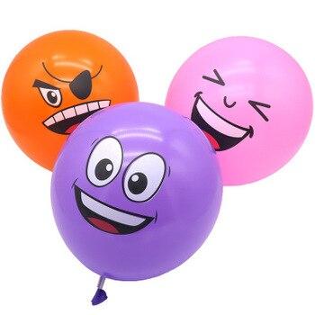 1000pcs Cute Face Latex Balloons Christmas Party Theme Decoration Cartoon Animal Balloon Birthday Baby Shower Favors