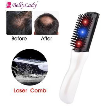 BellyLady Electric Laser Massage Comb Hair Growth Massage Care Equipment Hair Treatment Brush Grow Comb Hair Loss Therapy