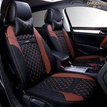 2017 Nueva 6D Asiento de Coche, Cubierta de Cuero de Alto Nivel, Del Coche Cubiertas, Deporte diseño de Coches, Car-estilo, Asiento Universal CushionFor Sedan