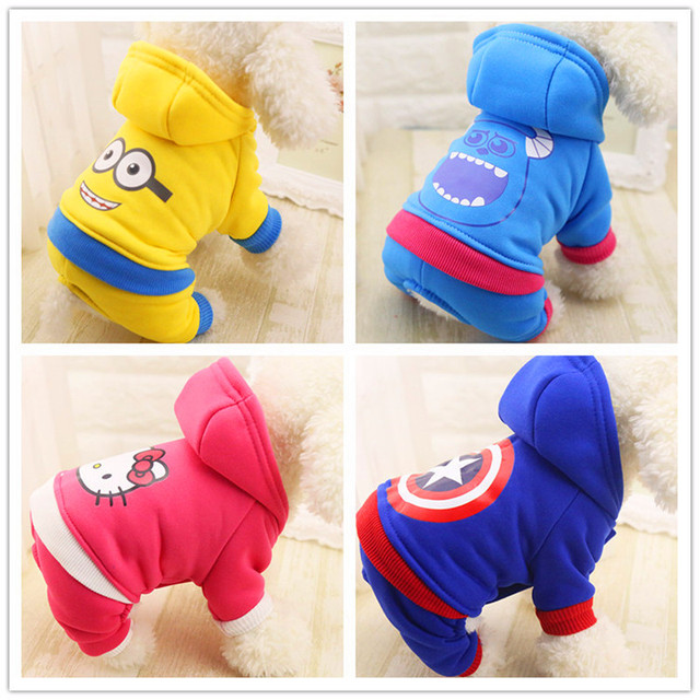 Cute Warm Dog Clothes