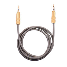 male to male Aux Cable Gold Plated 3.5 MM aux car audio cable for iphone 5S 6 7 Samsung galaxy htc xiaomi huawei Jack Speaker