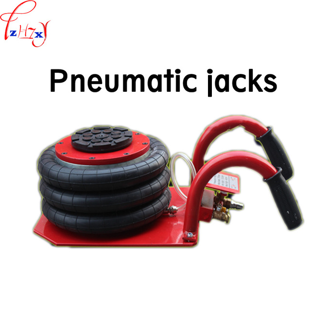 Pneumatic jack  LB-C 3T white air pressure auto jack instrument of vehicle maintenance and repair  1pc
