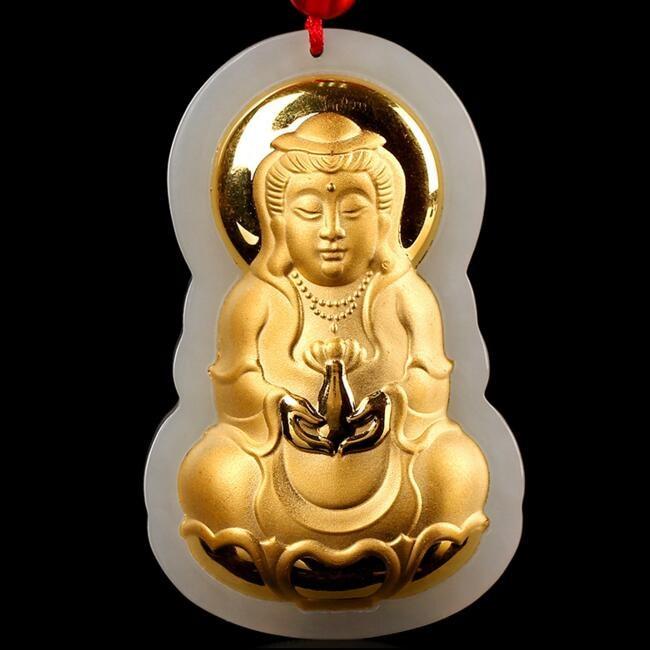 TJP Hot Sales Guanyin Jade Удачи Високоякісні - Вишукані прикраси