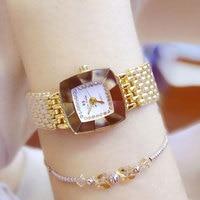 Luxury Rhinestone Bracelet Watch Women Watches Silver Gold Watches Women Clock Ladies Watch Hour Relogio Feminino