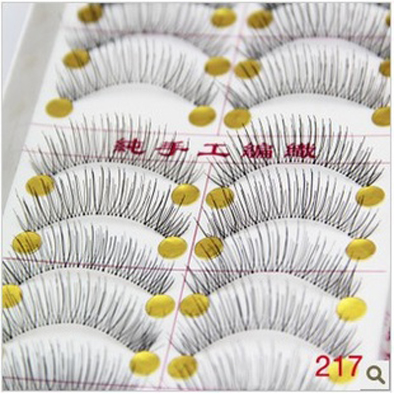 50 Pairs Of Reusable Fake Eye Lashes Natural And Regular Long False Eyelashes Artificial Fake Eyelashes Extension Makeup Tools