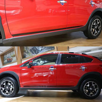 Car Side Door Body Trim ABS Chrome 4PCS SET For Subaru XV GT3 GT7 2018 Molding