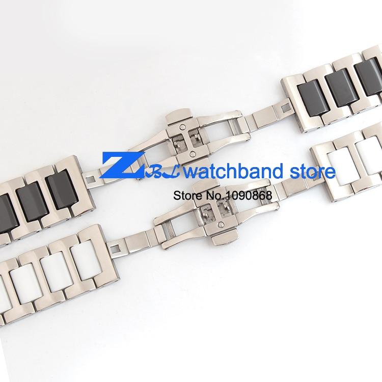16mm 18mm 20mm keraamiline käevõru ja roostevabast terasest - Kellade tarvikud - Foto 5