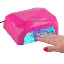36W UV Lamp LED lamp for nails Diamond Shaped Nail Dryer LED+CCFL Curing for Gel Nails Polish Nail Art Tools