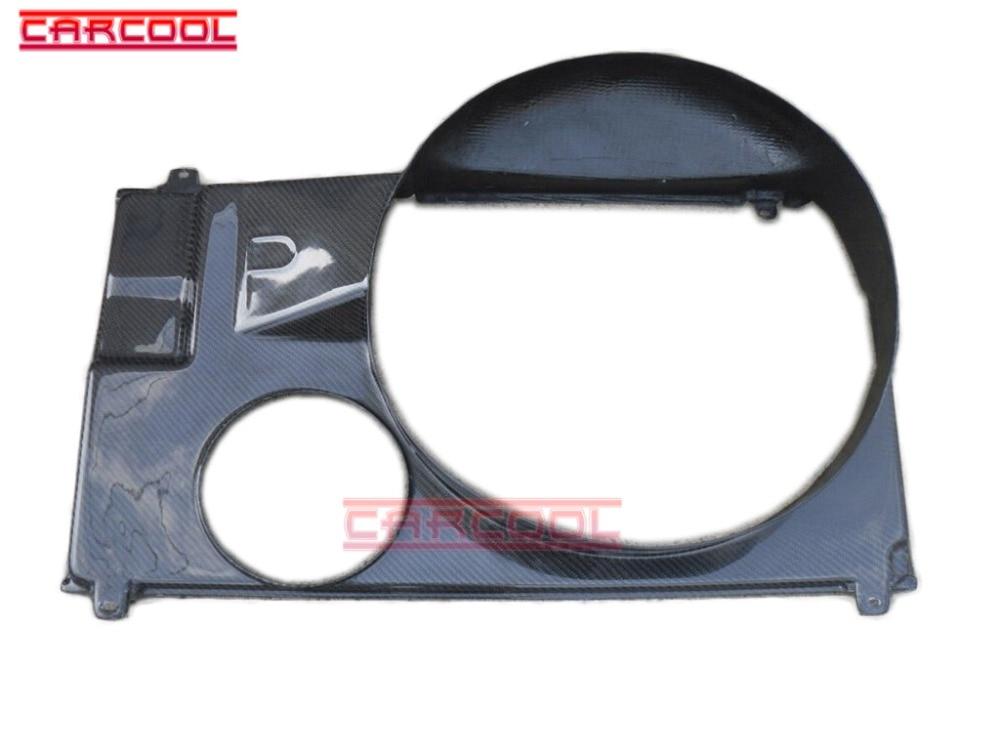 Auto Parts 1993-1998 Supra MK4 Radiator Fan Cover  CF carbon fiber