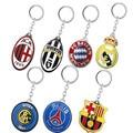 Fashion Souvenir Europe and the United Football Club LOGO Keychain Basketball Chaveiro Car Keychain Jewelry Key Holders