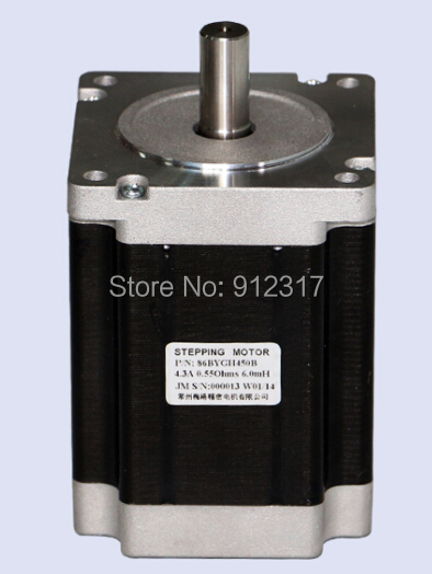 86BYGH450B-06D stepper motor cnc router stepping motor nema23 geared stepping motor ratio 50 1 planetary gear stepper motor l76mm 3a 1 8nm 4leads for cnc router