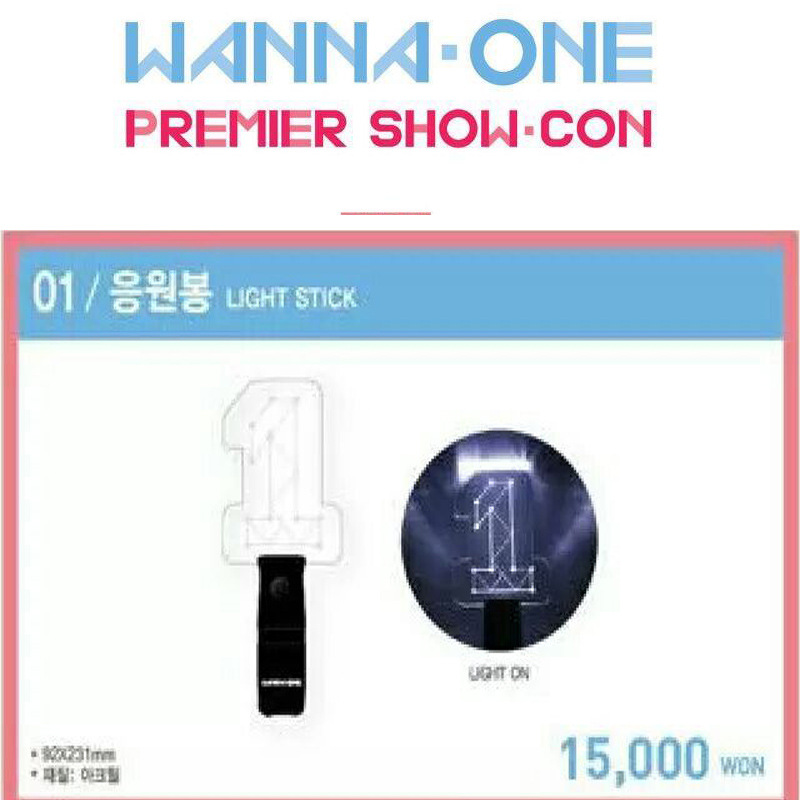 [MYKPOP]WANNA ONE Concert Light Stick with Keyring Fans Supporting Lightstick KPOP Fan Gift Collection SA18043015
