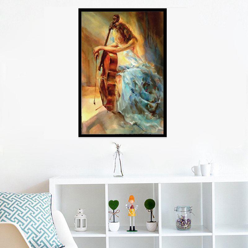 Art print POSTER Canvas Neil Diamond Sings in Concert №2
