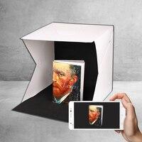 40*40cm Large Size Folding Lightbox Photography Photo Studio Softbox Photo Kit Background Photo Box For SLR Camera
