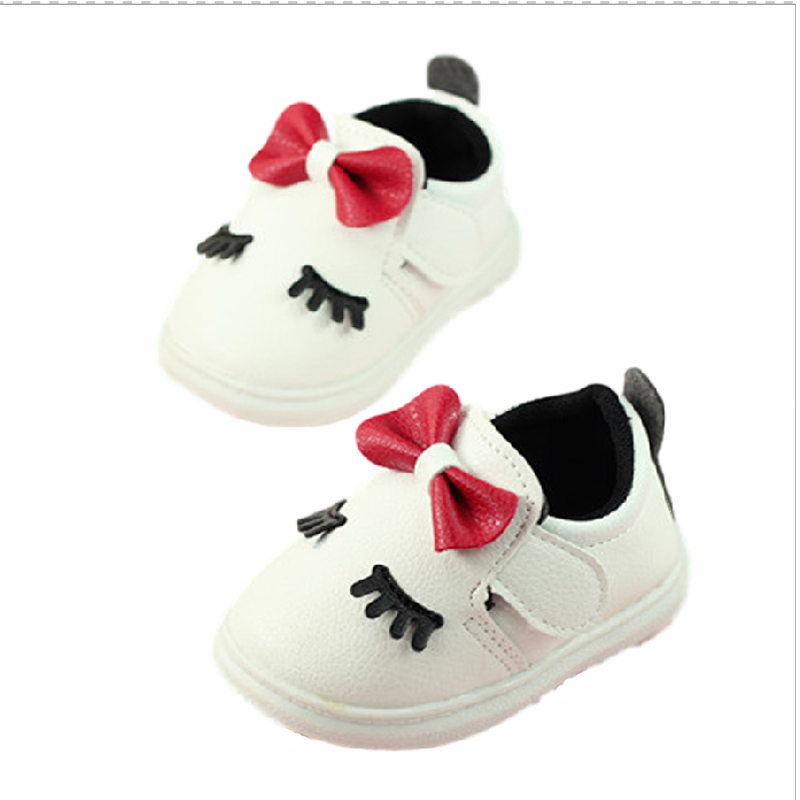 2016 new autumn baby leather casual shoes