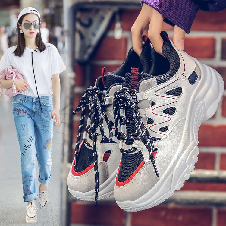 2019 Spring Autumn Designers Women Flats Shoes Fashion Round Toe Female Lace Up Loafer Sneakers Casual Shoes2019 Spring Autumn Designers Women Flats Shoes Fashion Round Toe Female Lace Up Loafer Sneakers Casual Shoes