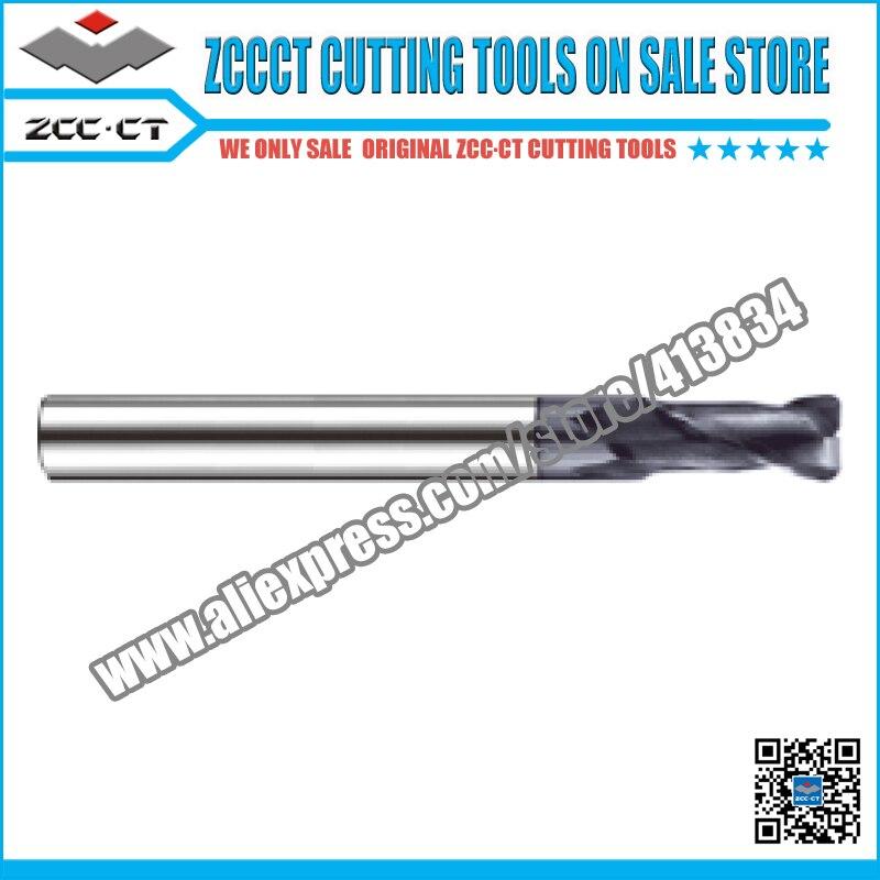ZCC carbide end mill GM-2R-D3.0R0.5 2 flutes 3.0mm diameter radius 0.5 solid carbide end mills for radius shoulder Profile slot caterham 7 csr