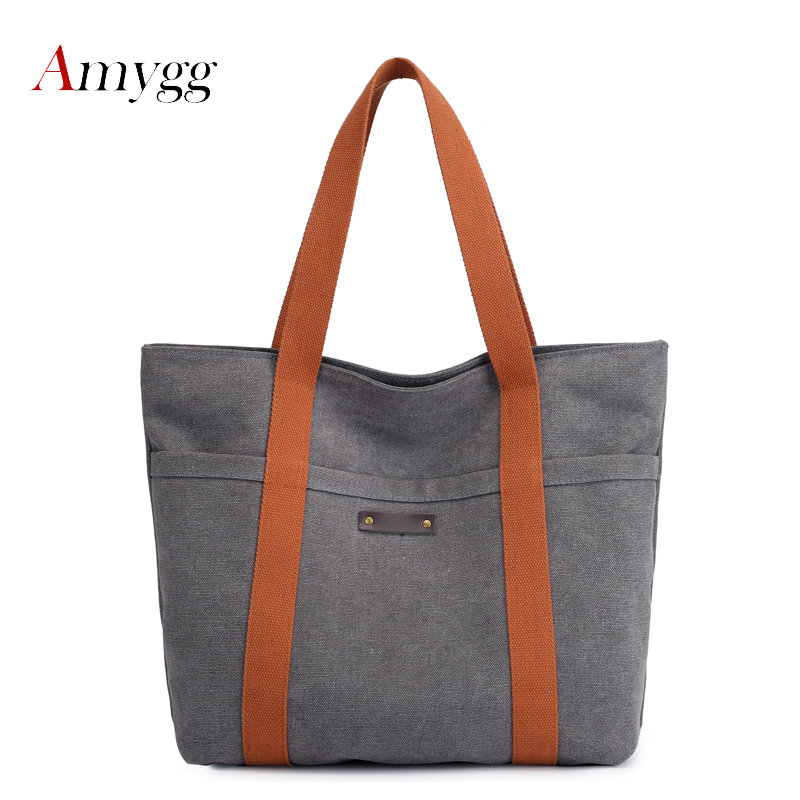 Canvas Bag Vintage Canvas Shoulder Bag Handbags Ladies Handbag Tote Bolsos Mujer Hobos Bolsas Feminina