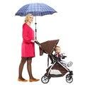 Paraguas de plástico Soportes Ajustables Para Bicicletas Pram Swivel Conector Umbrella Cochecito Holder Cochecito Accesorios