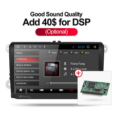 Uniway ADZ9071 android 7.1 dvd del coche para vw passat b5 b6 golf 4 5 tiguan polo octavia fabia rápido multimedia player gps