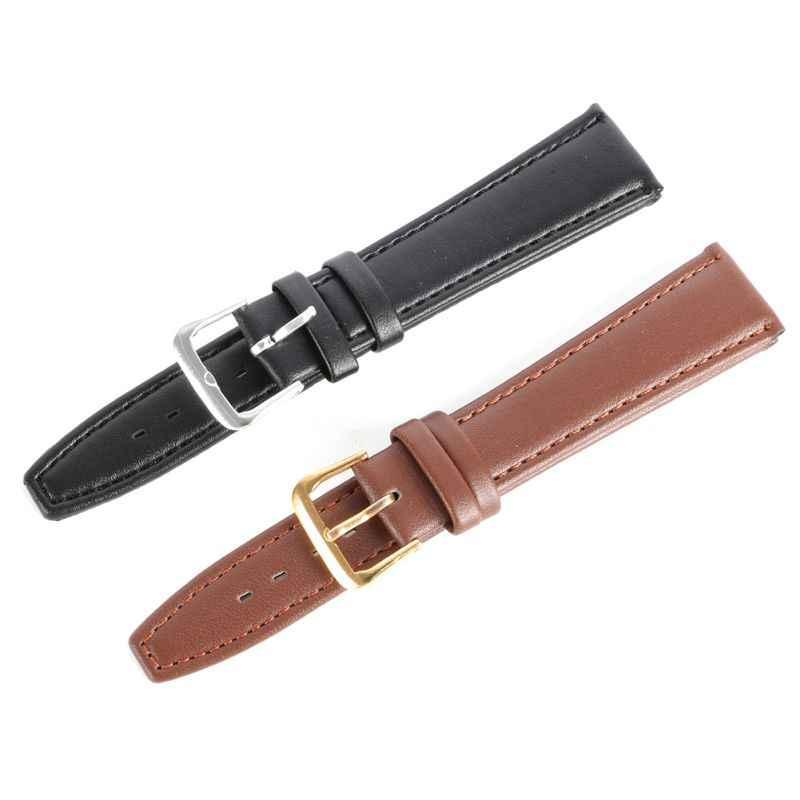 Pu レザー男性の女性ストラップウォッチバンド時計バンド腕時計コンパスブランド