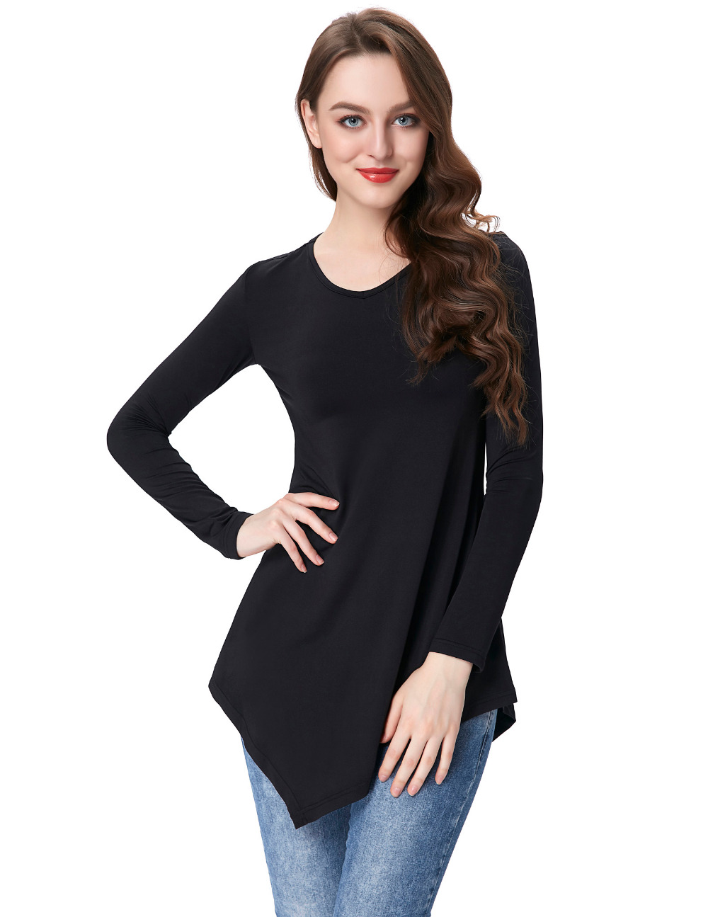 Buy the latest cheap women long sleeve and black plus size tunic tops, shop fashion style with free shipping, and check out our daily updated new arrival plus size tunic tops at hereuloadu5.ga - page5.